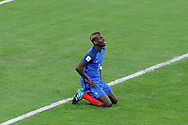 Paul POGBA (FRA) missed to score, on the floor during the FIFA World Cup Russia 2018, Qualifying Group A football match between France and Netherlands on August 31, 2017 at Stade de France in Saint-Denis, France - Photo Stephane Allaman / ProSportsImages / DPPI