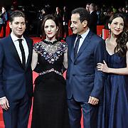 Michael Zegen, Rachel Brosnahan, Tony Shalhoub and Marin Hinkle attend The Romanoffs - World Premiere at CURZON MAYFAIR, London, Uk. 2nd October 2018.