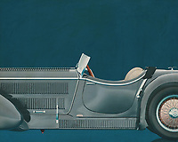 """The Mercedes-Benz SSK (W06) is a roadster built by German automobile manufacturer Mercedes-Benz between 1928 and 1932. The name is an abbreviation of Super Sport Kurz, German for """"Super Sport Short"""", as it was a short wheelbase development of the Mercedes-Benz Modell S. The SSK's extreme performance and numerous competitive successes made it one of the most highly regarded sports cars of its era. –<br /> <br /> <br /> BUY THIS PRINT AT<br /> <br /> FINE ART AMERICA<br /> ENGLISH<br /> https://janke.pixels.com/featured/1-mercedes-benz-ssk710-1930-jan-keteleer.html<br /> <br /> WADM / OH MY PRINTS<br /> DUTCH / FRENCH / GERMAN<br /> https://www.werkaandemuur.nl/nl/shopwerk/Mercedes---Benz-SSK710-1930/545140/134"""