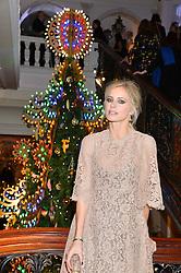 LAURA BAILEY at the Claridge's Christmas Tree By Dolce & Gabbana Launch Party held at Claridge's, Brook Street, London on 26th November 2013.