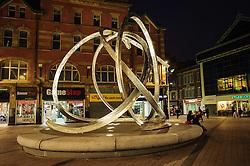 Spirit of Belfast sculpture by Dan George in Arthur Square near the Victoria Square Shopping Centre in Belfast<br /> <br /> (c) Andrew Wilson | Edinburgh Elite media