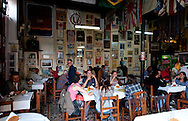 Barranco. Interior of Canta Rana restauran