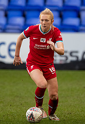 BIRKENHEAD, ENGLAND - Sunday, March 14, 2021: Liverpool's Ceri Holland during the FA Women's Championship game between Liverpool FC Women and Coventry United Ladies FC at Prenton Park. Liverpool won 5-0. (Pic by David Rawcliffe/Propaganda)