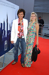 ANDY WONG and ANOUSHKA DE GEORGIOU at the English National Opera's 'On The Town' presented by SKY and Artsworld followed by a Tribute to Leonard Bernstein hosted by Jerry Hall at The London Coliseum, St.Martin's Lane, London WC2 on 11th May 2005.
