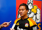 New Chiefs player Tim Nanai-Williams. Super 14 rugby union. 2010 Rebel Sport Super 14 New Zealand squads naming press conference. Auckland, New Zealand. Wednesday 11 November 2009. © Copyright Photo: www.photosport.nz