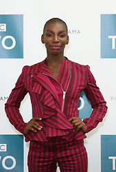 Michaela Coel attending a photocall at BAFTA Picadilly in London.