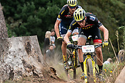 Gert HEYNS (RSA) and Andri FRISCHKNECHT (SUI) of team DSV-SCOTT-SRAM during the Prologue of the 2019 Absa Cape Epic Mountain Bike stage race held at the University of Cape Town in Cape Town, South Africa on the 17th March 2019.<br /> <br /> Photo by Greg Beadle/Cape Epic<br /> <br /> PLEASE ENSURE THE APPROPRIATE CREDIT IS GIVEN TO THE PHOTOGRAPHER AND ABSA CAPE EPIC
