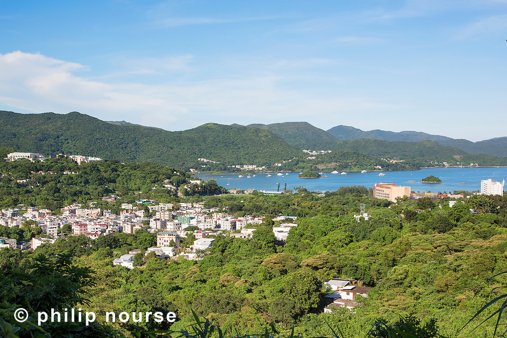 Looking east to Inner Port Shelter and Sai Kung West Country Park, New Territories