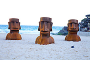 The world's largest free-to-the-public outdoor sculpture exhibition, Sculpture by the Sea, Bondi. .Steve Croquett- Heads Up.