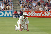 Lord's London, 1st NPower Test   England v New Zealand.  Ashley Giles, 20/05/2004 <br /> [Credit Peter Spurrier Intersport Images}