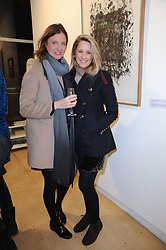 Left to right, CAMILLA JOHNSON-HILL and ALICE BRUDENELL-BRUCE at a Pop Up exhibition of Fine Art held at the Broadbent Gallery, 25 Chepstow Corner, Chepstow Place, London W2 on 7th December 2010.