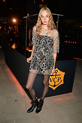 Kitty Hayes at the Veuve Clicquot Widow Series launch party curated by Carine Restoin-Roitfeld and CR Studio held at Islington Green, London England. 19 October 2017.