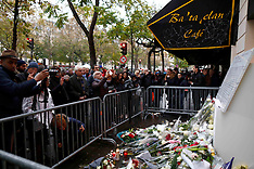 Paris: France Commemorates One Year Since The Paris Terrorist Attacks, 13 Nov. 2016