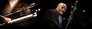 Montaggio di due ritratti di Junior Mance pianista e compositore. Uno dei padri del cosiddetto soul jazz. Montage of two portraits of Junior Mance pianist and composer. One of the fathers of the so-called soul jazz