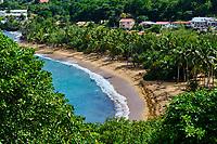 France, Martinique, Réserve Naturelle de la Caravelle, presqu'ile de la Caravelle // France, West Indies, Martinique, Nature Reserve of the Caravelle, peninsula of the Caravelle