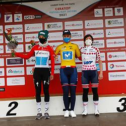 01-05-2021: Wielrennen: Elsy Jakobs : Luxembourg: Emma Norsgaard: Christine Majerus: Kathrin Hammes