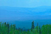 Ogilvie Mountains from Ogilvie Summit , Dempster HIghway, Yukon, Canada