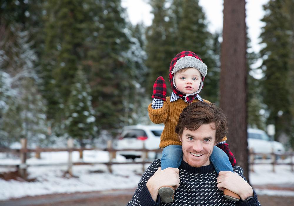 Tahoe City, California Family Portrait Session
