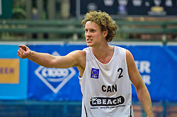 07-01-2011 VOLLEYBAL: CEV SATELLITE INDOOR BEACHVOLLEYBALL: AALSMEER<br /> <br /> The first CEV Indoor beachvolleyball tournament / Chaim Schalk CAN<br /> <br /> ©2011-WWW.FOTOHOOGENDOORN.NL / Peter Schalk