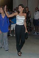 Queen Letizia and Queen Sofia attend Ara Malikian concert at Port Adriano in Palma de Mallorca, Spain on 1st of August of 2018.