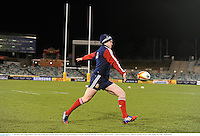 17 June 2013; Stuart Hogg, British & Irish Lions, during kickers practice ahead of their game against Brumbies on Tuesday. British & Irish Lions Tour 2013, Kickers Practice,  Canberra Stadium, Bruce, Canberra, Australia. Picture credit: Stephen McCarthy / SPORTSFILE