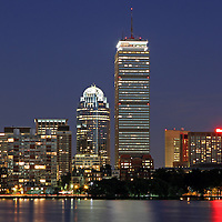 Boston landmark photography showing the Sheraton Hotel, Prudential Center, 111 Huntington Avenue office building and brownstones along the Charles River on a beautiful summer night at twilight.<br /> <br /> Photos of Boston are available as museum quality photography prints, canvas prints, acrylic prints or metal prints. Prints may be framed and matted to the individual liking and decorating needs: <br /> <br /> http://juergen-roth.artistwebsites.com/featured/boston-landmarks-and-sheraton-hotel-juergen-roth.html<br /> <br /> Good light and happy photo making! <br /> <br /> My best, <br /> <br /> Juergen<br /> www.RothGalleries.com <br /> www.ExploringTheLight.com <br /> http://whereintheworldisjuergen.blogspot.com<br /> https://twitter.com/naturefineart<br /> https://www.facebook.com/naturefineart