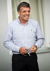 Vlado Makuc during press conference of Ski Association of Slovenia (SZS) after resignation of T. Lovse, president of SZS after his affair with J. Kocijancic, on June 5, 2012 at SZS, Ljubljana, Slovenia. (Photo by Vid Ponikvar / Sportida.com)