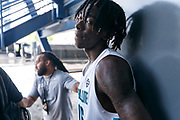 THOUSAND OAKS, CA Sunday, August 12, 2018 - Nike Basketball Academy. CJ Walker 2019 #16 of Orlando Christian Prep poses for the camera. <br /> NOTE TO USER: Mandatory Copyright Notice: Photo by Jon Lopez / Nike