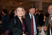 GUY GOODFELLOW; MELANIE NAYLOR, Bonhams Auction house hosts festive drinks to preview the first phase of the reconstruction of its Mayfair Headquarters - due for completion in 2013.<br /> Bonhams, 101 New Bond Street, London, 19 December 2011.