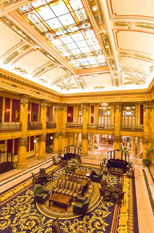 The Rotunda, the Jefferson Hotel, Richmond, Virginia USA