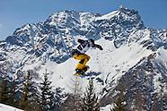 junior world chanpionships Snowboard  2011 Slope style finals