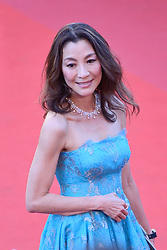 Michelle Yeoh arriving at Les Fantomes d'Ismael screening and opening ceremony held at the Palais Des Festivals in Cannes, France on May 17, 2017, as part of the 70th Cannes Film Festival. Photo by Aurore Marechal/ABACAPRESS.COM