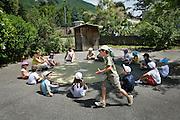 Activités au centre d'accueil de loisirs de Lagnieu, Ain // Activities in the day camp of Lagnieu, Ain, France.