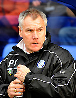 Photo: Paul Greenwood/Richard Lane Photography. Shrewbury Town v Wycombe Wanderers. Coca Cola Two. 20/12/2008. <br /> Wycombe Manager Peter Taylor