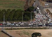 A protest March for the release of Gilad Shalit. Photographed in Israel on June 28th 2010
