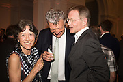 OLGA POLIZZI; WILLIAM SHAWCROSS; SIR NICHOLAS SEROTA, Opening of The New Royal Academy of arts, London. 15 May 2018