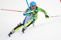 January 7, 2018 - Kranjska Gora, Gorenjska, Slovenia - Marusa Ferk of Slovenia competes on course during the Slalom race at the 54th Golden Fox FIS World Cup in Kranjska Gora, Slovenia on January 7, 2018. (Credit Image: © Rok Rakun/Pacific Press via ZUMA Wire)