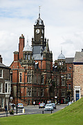 York Magistrate's Court is an ornate red brick building built in 1890 on Clifford Street. The historic walled city of York lies at the confluence of rivers Ouse and Foss in North Yorkshire, England, United Kingdom, Europe. Founded by the Romans as Eboracum in 71 AD, it became capital of the Roman province of Britannia Inferior, and later of the kingdoms of Northumbria and Jorvik (mostly controlled by Vikings 875 to 954). In the Middle Ages, York grew as a major wool trading centre and became the capital of the northern ecclesiastical province of the Church of England, to this day. In the 1800s, York became a hub of the railway network and center for confectionery manufacturing. The University of York, health services, and tourism have become major employers.