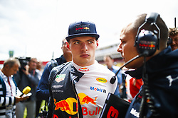 May 13, 2018 - Barcelona, Catalonia, Spain - May 13th, 2018 - Circuit de Barcelona-Catalunya, Montmelo, Spain - Race of Formula One Spanish GP 2018; Max Verstappen of RedBull Racing in the grid before start the race. (Credit Image: © Eric Alonso via ZUMA Wire)