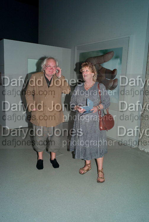 SLAWEK BLATTON; DIANA BLATTON, The Surreal House Barbican art gallery afterwards SURREAL DINNER at Hoxton hall. London. 9 June 2010. -DO NOT ARCHIVE-© Copyright Photograph by Dafydd Jones. 248 Clapham Rd. London SW9 0PZ. Tel 0207 820 0771. www.dafjones.com.
