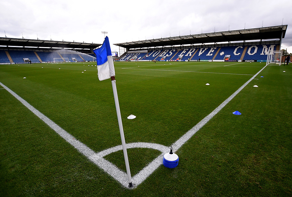 Weston homes Community Stadium home of Colchester United<br /> <br /> Photographer Hannah Fountain/CameraSport<br /> <br /> <br /> The EFL Sky Bet League Two - Colchester United v Mansfield Town - Saturday 7th October 2017 - Colchester Community Stadium - Colchester<br /> <br /> World Copyright © 2017 CameraSport. All rights reserved. 43 Linden Ave. Countesthorpe. Leicester. England. LE8 5PG - Tel: +44 (0) 116 277 4147 - admin@camerasport.com - www.camerasport.com