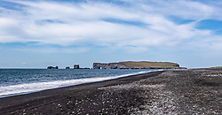 THEMENBILD - Felsen Dyrholaey, aufgenommen am 09. Juni 2019 in Island // Rock Dyrholaey, Iceland on 2019/06/09. EXPA Pictures © 2019, PhotoCredit: EXPA/ Peter Rinderer
