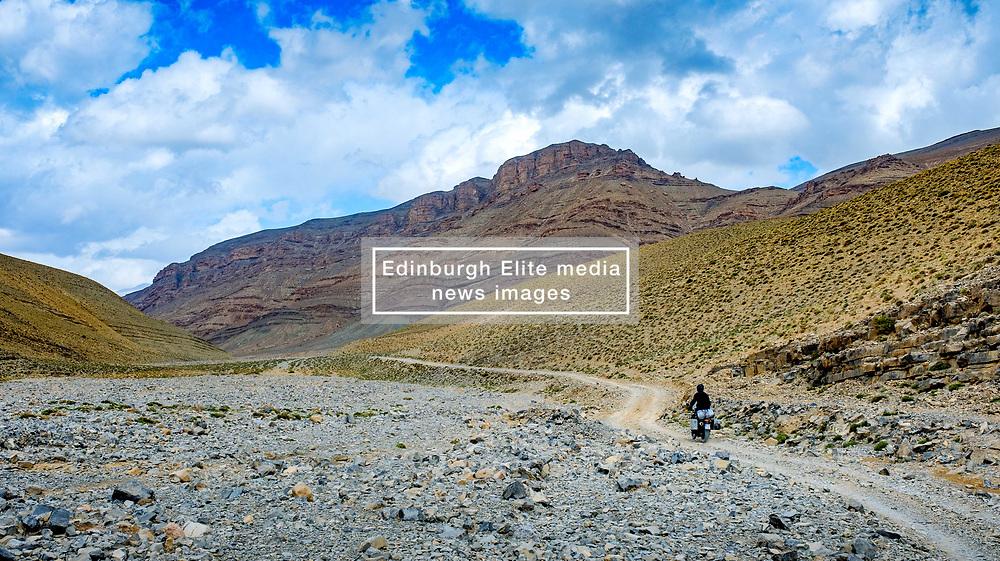The piste from Tamtetoucht to Msemrir, Morocco<br /> <br /> (c) Andrew Wilson | Edinburgh Elite media