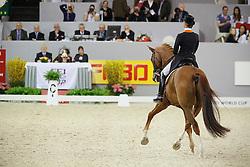 Cornelissen Adelinde (NED) - Jerich Parzival<br /> World Cup Final Dressage 's Hertogenbosch 2010<br /> © Dirk Caremans