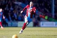 Scunthorpe United forward Lee Novak (17) in action  during the EFL Sky Bet League 1 match between Scunthorpe United and Doncaster Rovers at Glanford Park, Scunthorpe, England on 23 February 2019.