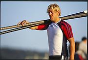 Sydney. AUSTRALIA. 2000 Summer Olympic Regatta, Penrith. NSW.  <br /> <br /> NOR M4-. STOERSETH, Steffen.<br /> [Mandatory Credit Peter SPURRIER/ Intersport Images] Sydney International Regatta Centre (SIRC) 2000 Olympic Rowing Regatta00085138.tif