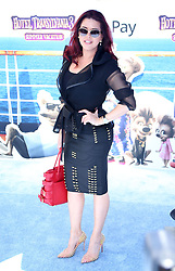 "Alicia Machado at the premiere of ""Hotel Transylvania 3: Summer Vacation"" held at the Westwood Village Theatre in Los Angeles"