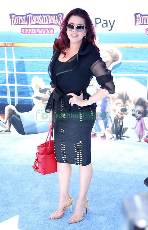 """Alicia Machado at the premiere of """"Hotel Transylvania 3: Summer Vacation"""" held at the Westwood Village Theatre in Los Angeles"""