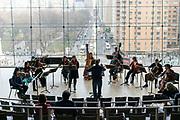 "New York City Opera concert with soprano Sarah Shafer and mezzo-soprano Kirstin Chávez, New York City Opera Orchestra, with world premiere of David Hertzberg's ""Sunday Morning"