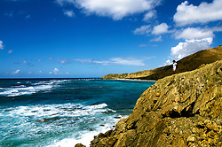 US Virgin Islands: Point Udall on St. Croix..Photo usvi20105.Photo copyright Lee Foster, www.fostertravel.com, 510/549-2202, lee@fostertravel.com